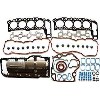 SCITOO Replacement for Head Gasket Set fits for Chrysler Aspen for Dodge Dakota Durango for Ram 1500 for Jeep for Mitsubishi Raider 4.7L 2004-2007 Timing Cover Gaskets