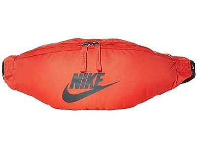 Nike Heritage Hip Pack (Track Red/Dark Smoke Grey/Dark Smoke Grey) Bags