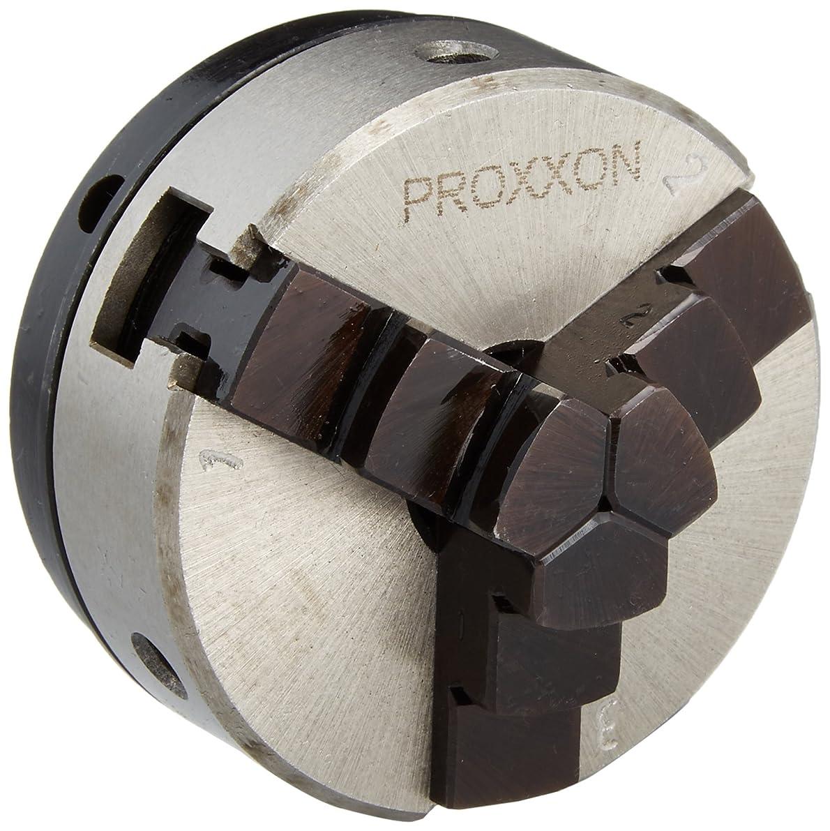 ぎこちない雨のオーブンプロクソン(PROXXON) 三爪ユニバーサルチャック ウッドレースDX専用 No.27026