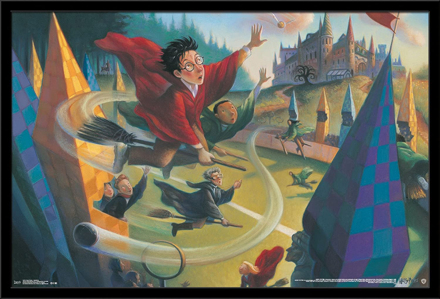 Trends International Wall Poster Harry Potter Quidditch, 22.375 x 34