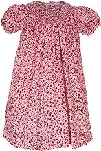 Carriage Boutique Fuscia Flowers Bishop Dress
