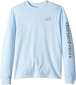 Long Sleeve Stripe Edgartown Tee (Toddler/Little Kids/Big Kids)