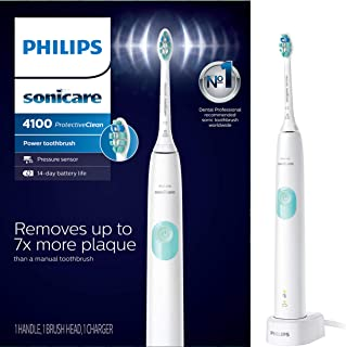 Philips Sonicare HX6817/01 ProtectiveClean 4100 Rechargeable Electric Toothbrush, White..