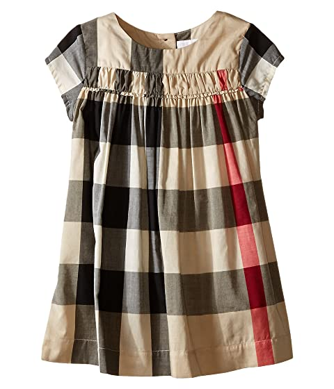Burberry Kids Check Dress w/ Ruched Panel (Infant/Toddler)