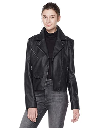 3f9bb810175 Black Moto Jacket: Amazon.com