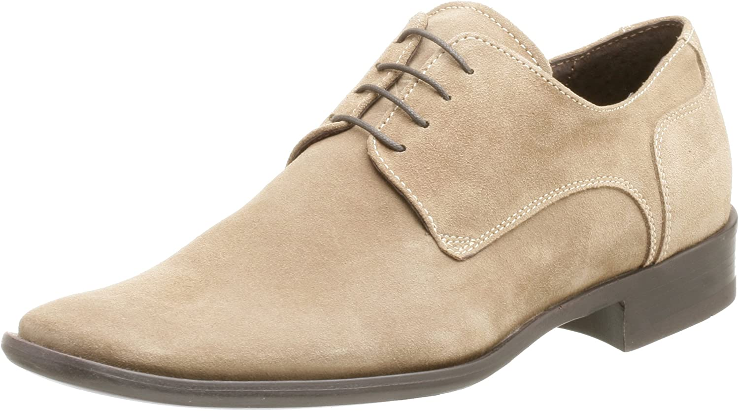 Kenneth Cole REACTION Men's Cause Way Suede Plain Toe Oxford