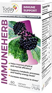 Immuneherb, Immune Support, Strong Immune System, Innovative Herbal Formula, Vitamins, Minerals & Plant Extracts for Immune Support, Today Herbs