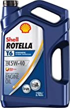 Best rotella t6 5w40 gas engine Reviews