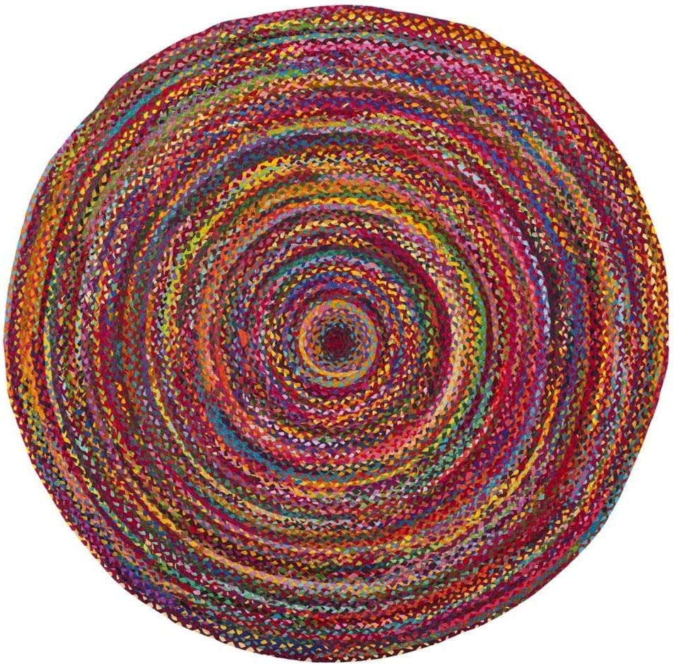 Indian Casual Fashionable Handmade Braided Cotton Multi Fe 3 Rugs Area Color Free Shipping Cheap Bargain Gift