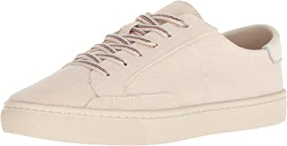 Soludos Womens 1000335 Ibiza Linen Lace Up Sneaker