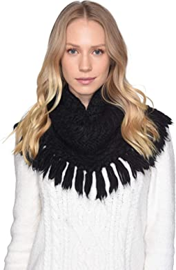 Fringe Knit Snood