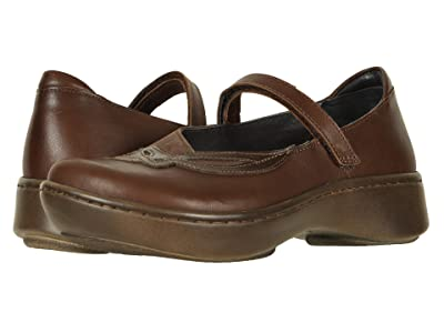 Naot Bluegill (Toffee Brown Leather/Coffee Bean Nubuck/Walnut Leather) Women