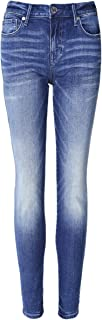 True Religion Women's Halle High Rise Super Skinny Jeans Blue