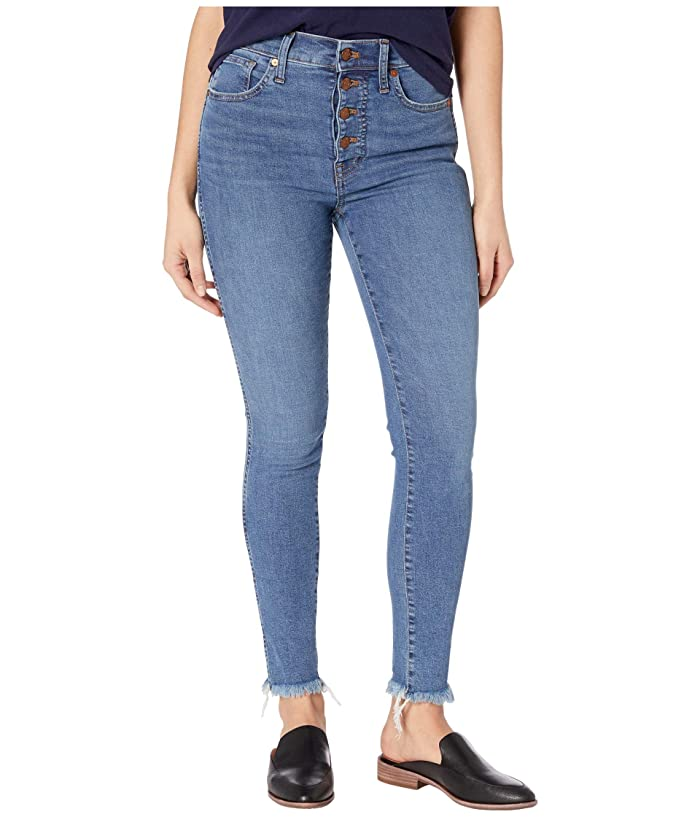 Madewell  10 High-Rise Skinny Jeans in Mackey Wash (Mackey Wash) Womens Jeans