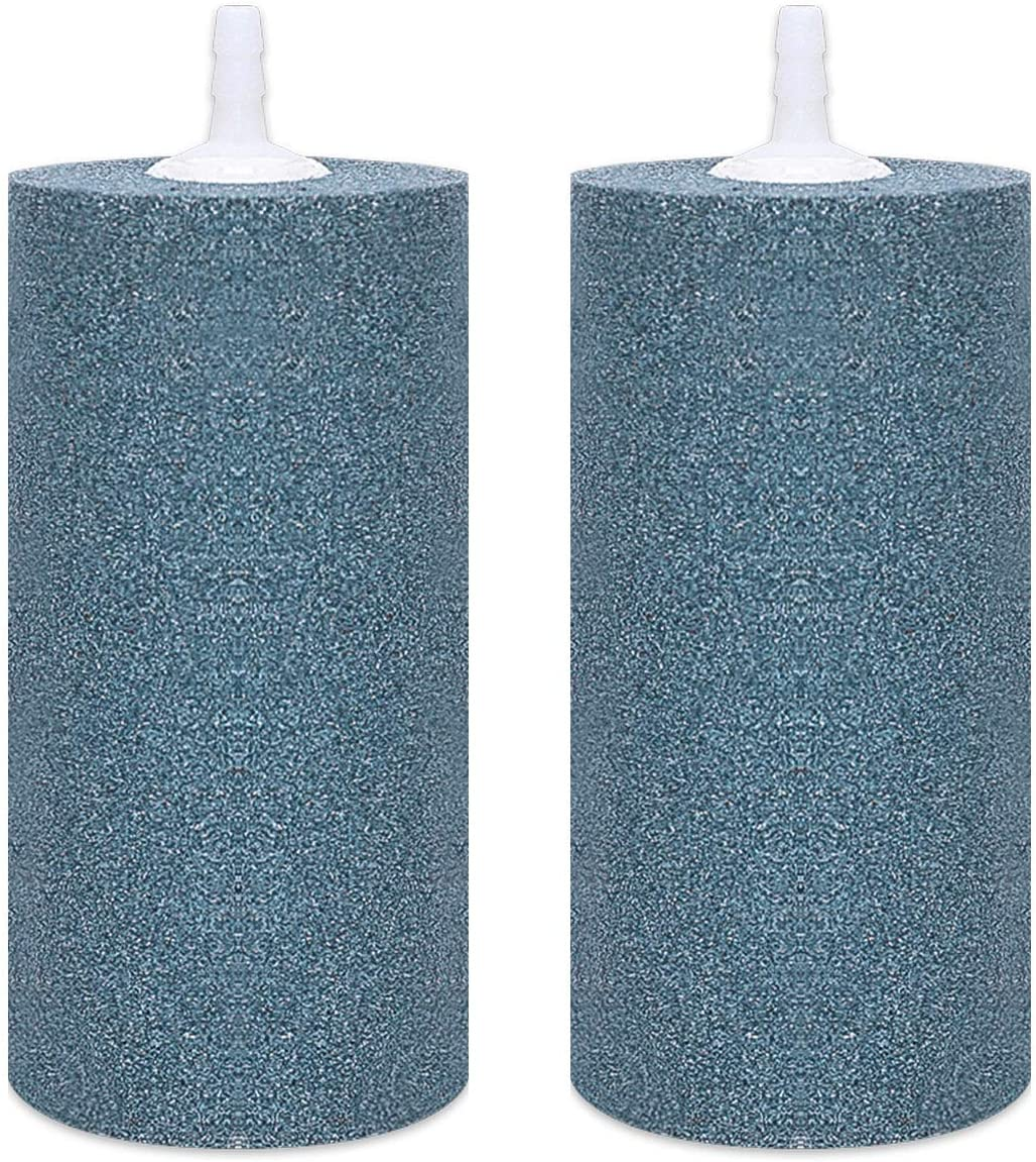 VIVOSUN Air Stone 2PCS 4 X 2 Inch Large Air Stone for Aquarium and Hydroponics Air Pump : Pet Supplies