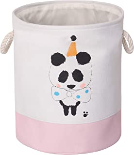 Miracle Baby Cesta de Tela Ropa Sucia,Cesta de Tela Impermeable Plegable.Cestos de lavanderíapara la Colada,Organizador Lavadero para Organizadoras Juguetes Ropa,36 x 35 x 6.5 cm