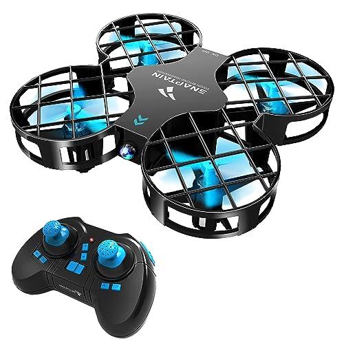 SNAPTAIN H823H Drone Hélicoptère Enfant Mini Avion avec Télécommande avec les Fonctions Mode sans Tête, Maintien d'altitude, Opération à un bouton, 360°Flips pour les Débutants et les Enfants
