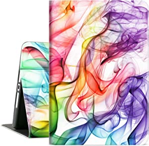 Cutebricase iPad 10.2 Case for iPad 8th Generation 2020, iPad 7th Generation Case 2019 10.2 inch iPad Cover, Multi-Angle Viewing Case Adjustable Stand Auto Wake / Sleep (Colored Smoke)