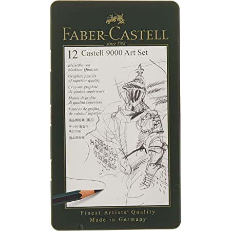 Faber-Castell–Crayon Castell 9000,, 1
