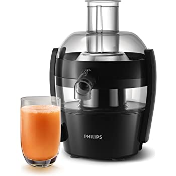 Philips Viva Collection HR1832/00 1.5-Litre 500-Watt Juicer (Ink Black)