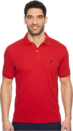 Short Sleeve Solid Interlock Polo