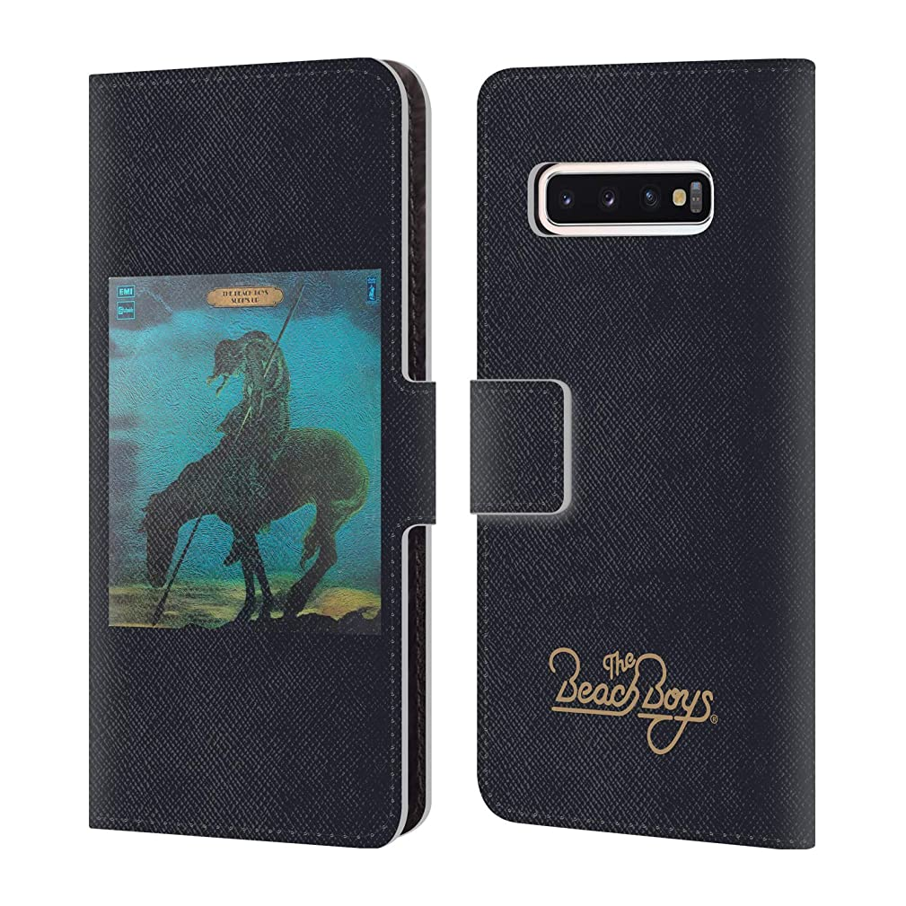 Official The Beach Boys Surfs Up Album Cover Art Leather Book Wallet Case Cover Compatible for Samsung Galaxy S10