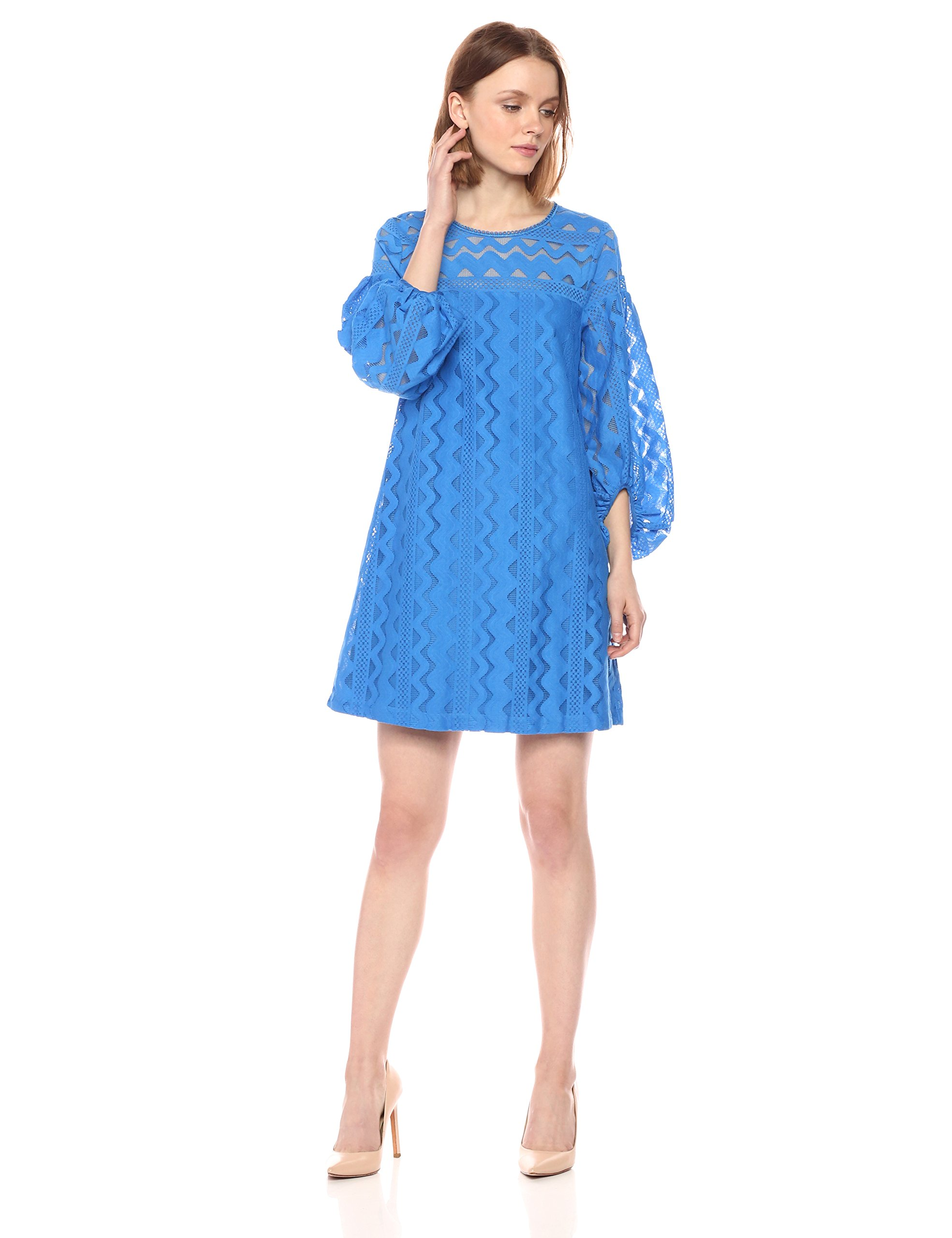 Available at Amazon: Laundry by Shelli Segal Women's A-line Lace Dress with Full Sleeve