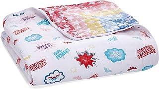 aden + anais Essentials Wonder Woman Dream Blanket, Muslin Baby Blankets for Girls & Boys, Ideal Lightweight Newborn Nurse...
