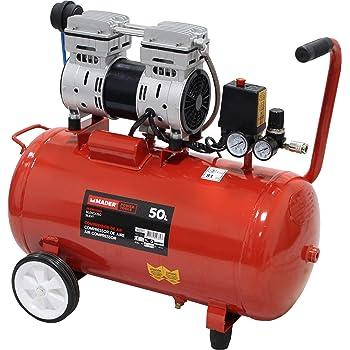 Einhell - TH-AC 200/24 OF - Compresor, 1100 W, 240 V, motor sin aceite, manómetro y acoplamiento rápido, llave de desagüe (ref. 4020515): Amazon.es: Bricolaje y herramientas
