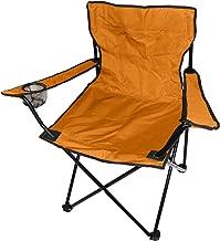 Vouwstoel ORANGE campingstoel visstoel drankhouder reisstoel klapstoel