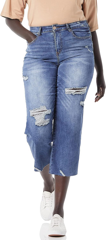 dollhouse Women's Atlanta Mall Max 74% OFF Size Straight Plus Leg Crop