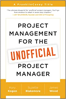 FranklinCovey Project Management for The Unofficial Project Manager Paperback