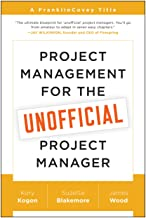 FranklinCovey Project Management for The Unofficial Project Manager Paperback Book PDF