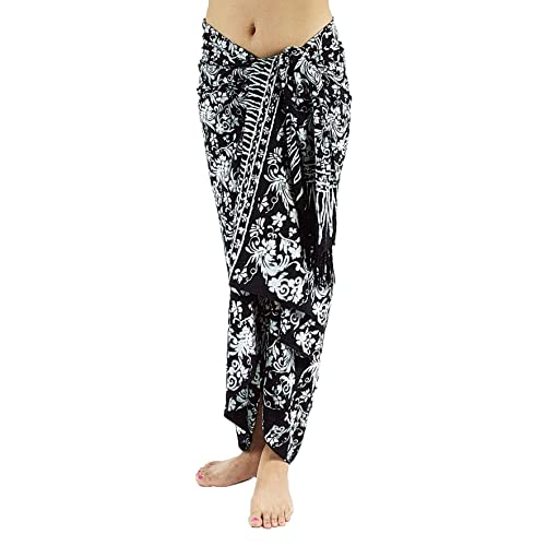 5193ceea8bdbb Lotus Resort Wear Handcrafted Batik Sarong, Pareo, Scarf, Bathing Suit  Wrap, Bikini