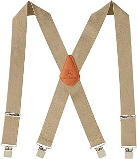 """John Deere Men's 2"""" Logger Style"""