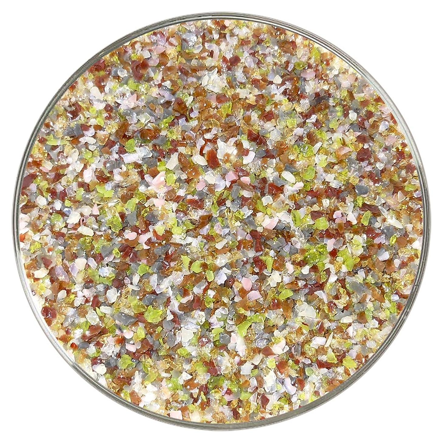 New Hampshire Craftworks Potpourri Designer Medium Frit Mix - 4oz - 90COE - Made From Bullseye Glass