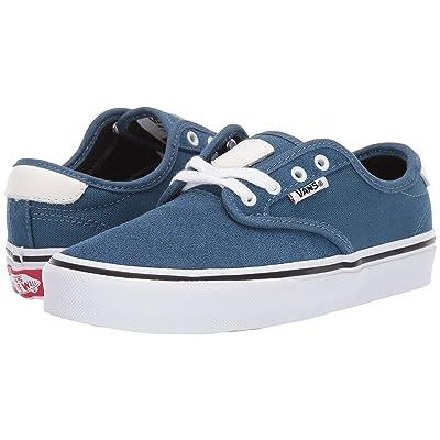 Vans Kids Chima Ferguson Pro (Little Kid/Big Kid) (Blue Ashes/White) Boys Shoes