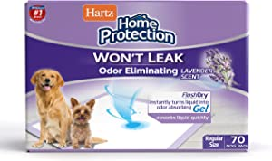 Hartz Home Protection Odor Eliminating Scented Dog Pads