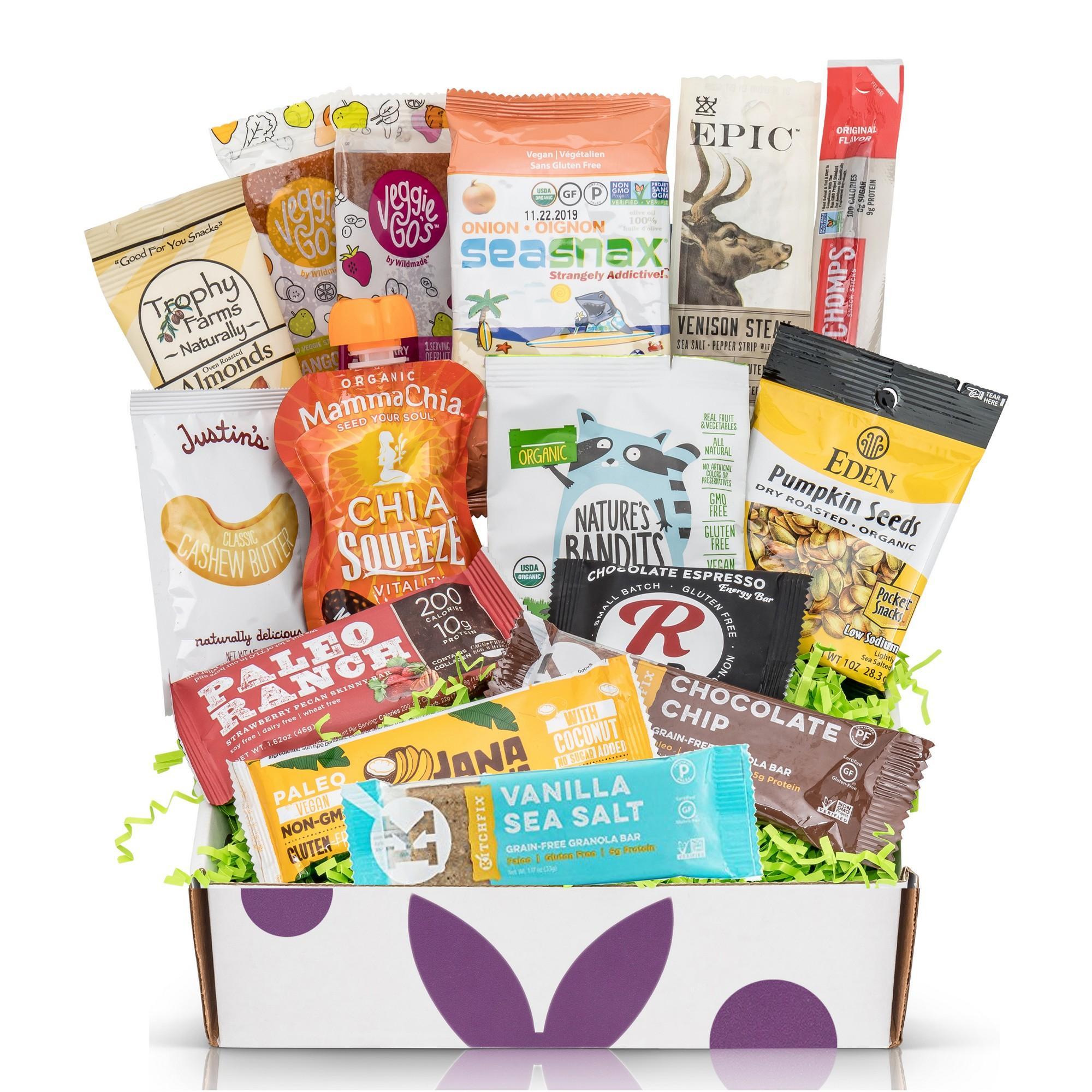 Bunny James Box - Hand Selected Premium Snacks Subscription: Paleo
