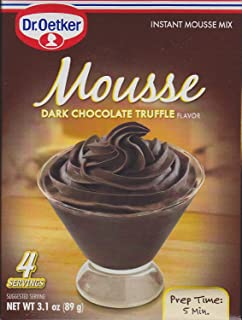 Dr Oetker, Mousse Dark Chocolate Truffle, 3.1 OZ (Pack of 3)