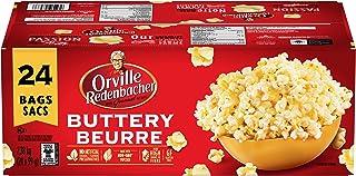 Orville Redenbacher Buttery Microwave Popcorn (24 x 99 gram bags)