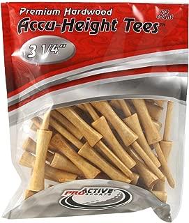 ProActive Sports 3 1/4 英寸 Accu-height 球座(40/包装)