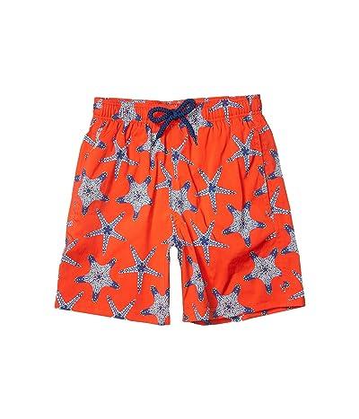 Vilebrequin Kids Starfish Dance Jirise Swim Trunks (Toddler/Little Kids/Big Kids)