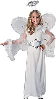 Feathered Fashions Child's Snow Angel Costume, Medium