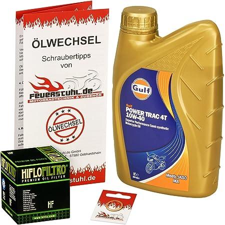 Castrol 10w 40 Öl Hiflo Ölfilter Für Bmw F 650 St 93 99 E169 Ölwechselset Inkl Motoröl Filter Dichtring Auto
