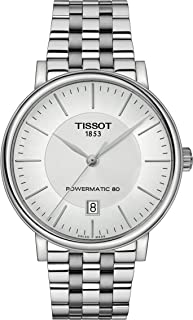 Tissot Carson T122.407.11.031.00 Powermatic 80 Stainless Steel Watch