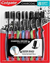 Colgate Charcoal Infused Floss-Tip Slim Soft Toothbrush (8 pk.)