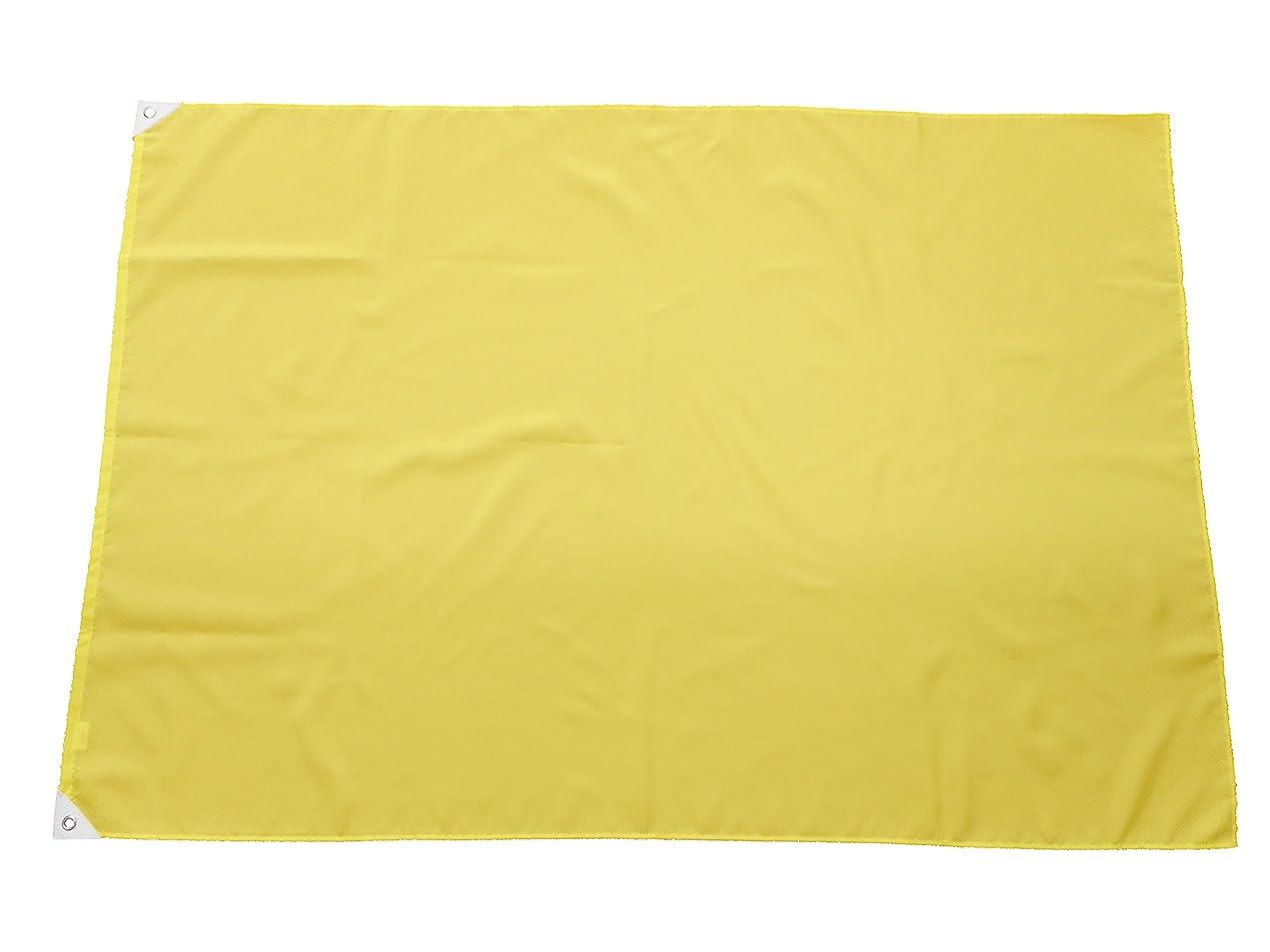 バスフリッパーネットTOMAC 紐付色旗 綿 IHC-10-01 レモン 100×150㎝