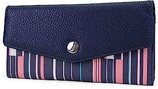 Money Manager RFID Women's Wallet Clutch Organizer (Ribbon Stripe)