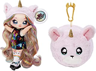 MGA Entertainment Na! Na! Na! Surprise 2-in-1 Fashion Doll & Plush Pom with Confetti Balloon Unboxing, Multicolor